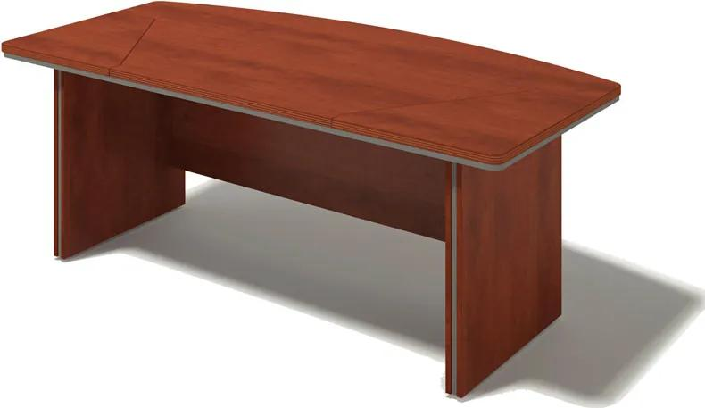 Písací stôl Bern Plus, 2000 x 1000 mm, bříza