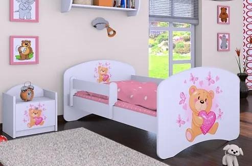 MAXMAX Detská posteľ bez šuplíku 160x80cm MÍŠA