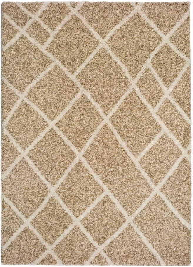 Béžový koberec Universal Kasbah Beige, 80 × 150 cm