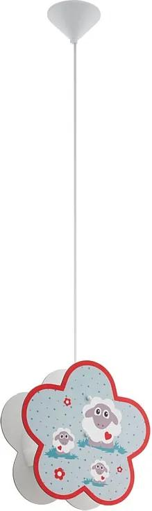 Eglo 97706 LALELU Detské závesné svietidlo E27 1X60W