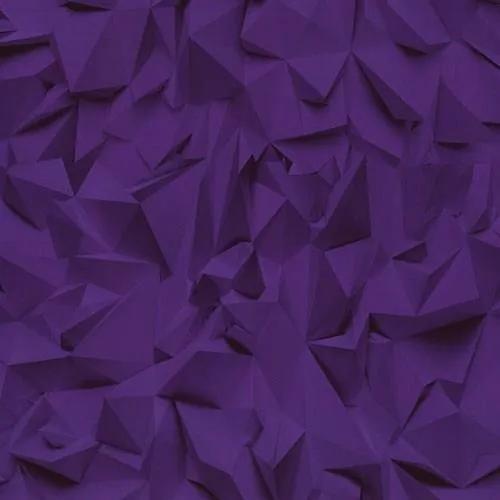 Vliesové tapety, 3D hrany fialové, Times 4209720, P+S International, rozmer 10,05 m x 0,53 m