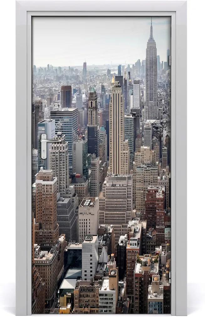 Fototapeta samolepící na dveře New york