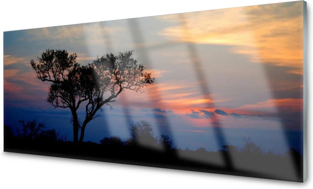 Akrylové obraz Skleněný strom příroda