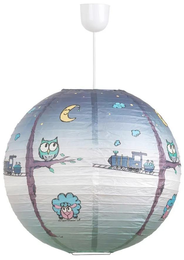 Rabalux 4631 Shepherd detské stropné svietidlo, modrá