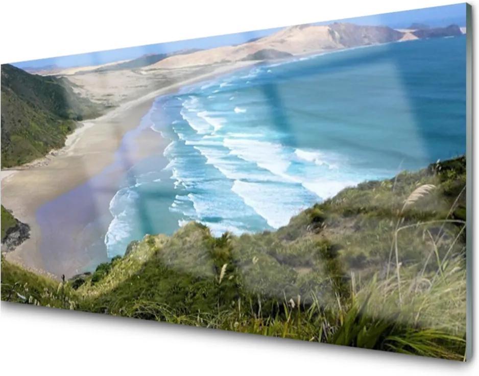 Skleněný obraz Pláž More Príroda
