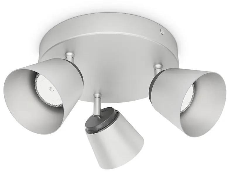 Philips Philips 53343/17/16 - LED bodové svietidlo DENDER 3xLED/4W/230V P1134