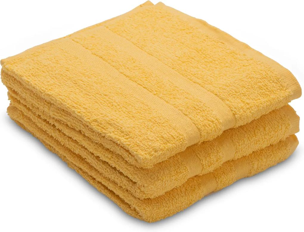 Uterák Basic žltý