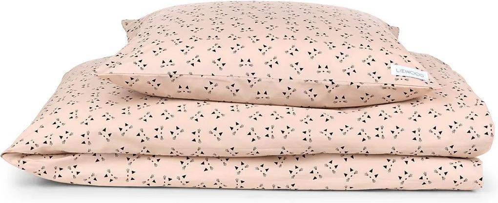 BABY posteľná bielizeň - Micka a sladká ružová