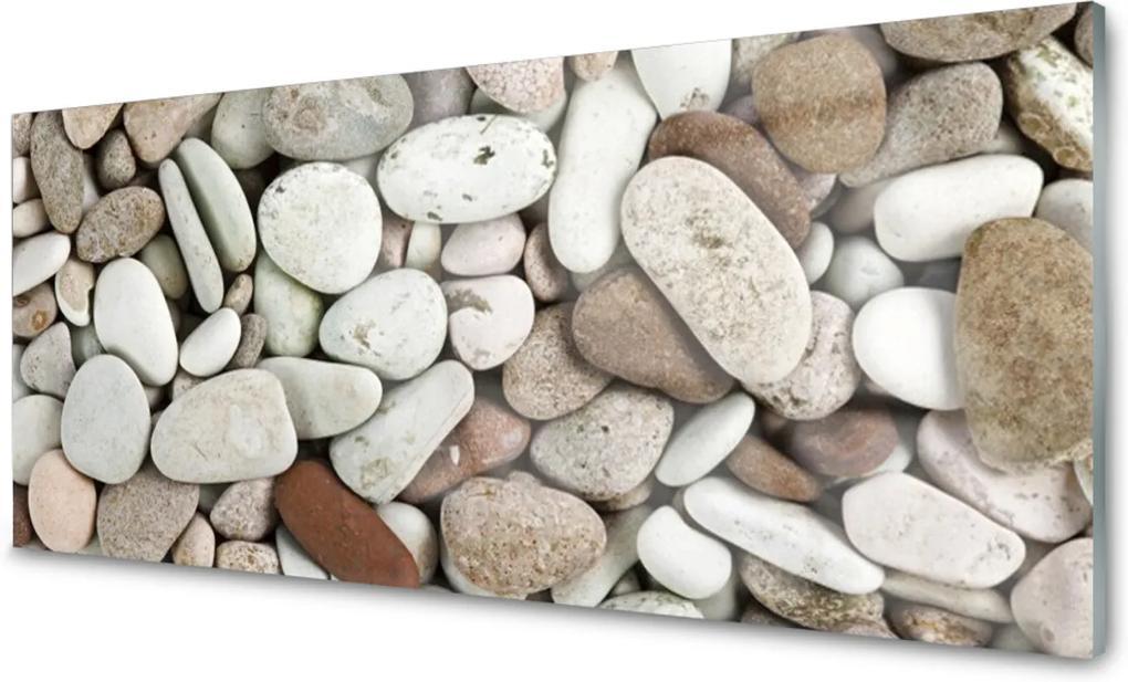 Skleněný obraz Kamene Dekoračné Kamienky