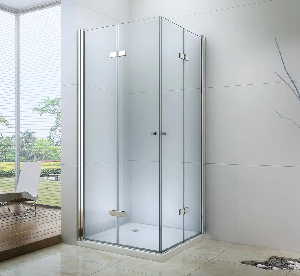 MAXMAX Sprchovací kút LINA DUO 100x100 cm 100 čtvercový