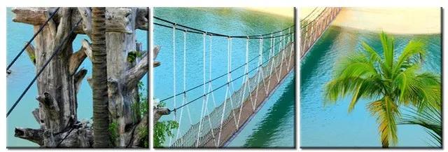 Tlačený obraz Dovolenka na ostrove Sentosa 90x30cm 2083A_3A