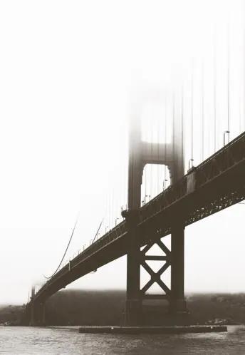 Luxusné vliesové fototapety, rozmer 186 cm x 270 cm, San Francisco, P+S International CL46A