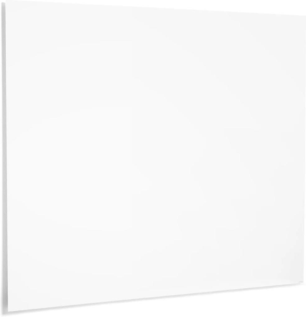 Biela magnetická tabuľa Air, bez rámika, 1490x1190 mm