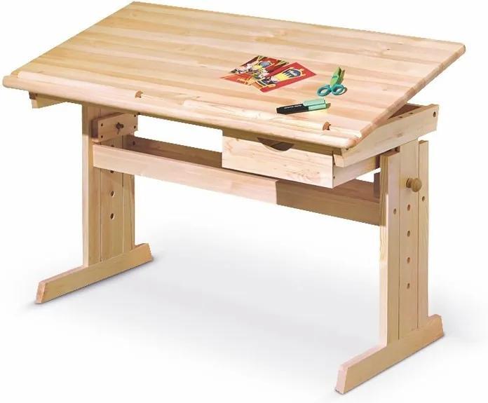 MAXMAX Detský písací rastúci stôl - JULIE