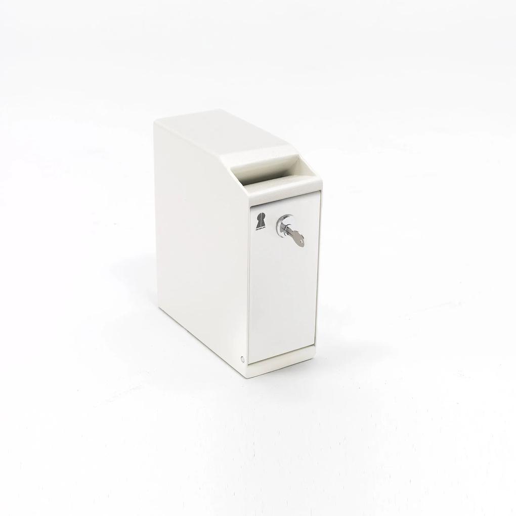 Bezpečnostná schránka Bank, 300x120x250 mm, zámok na kľúč