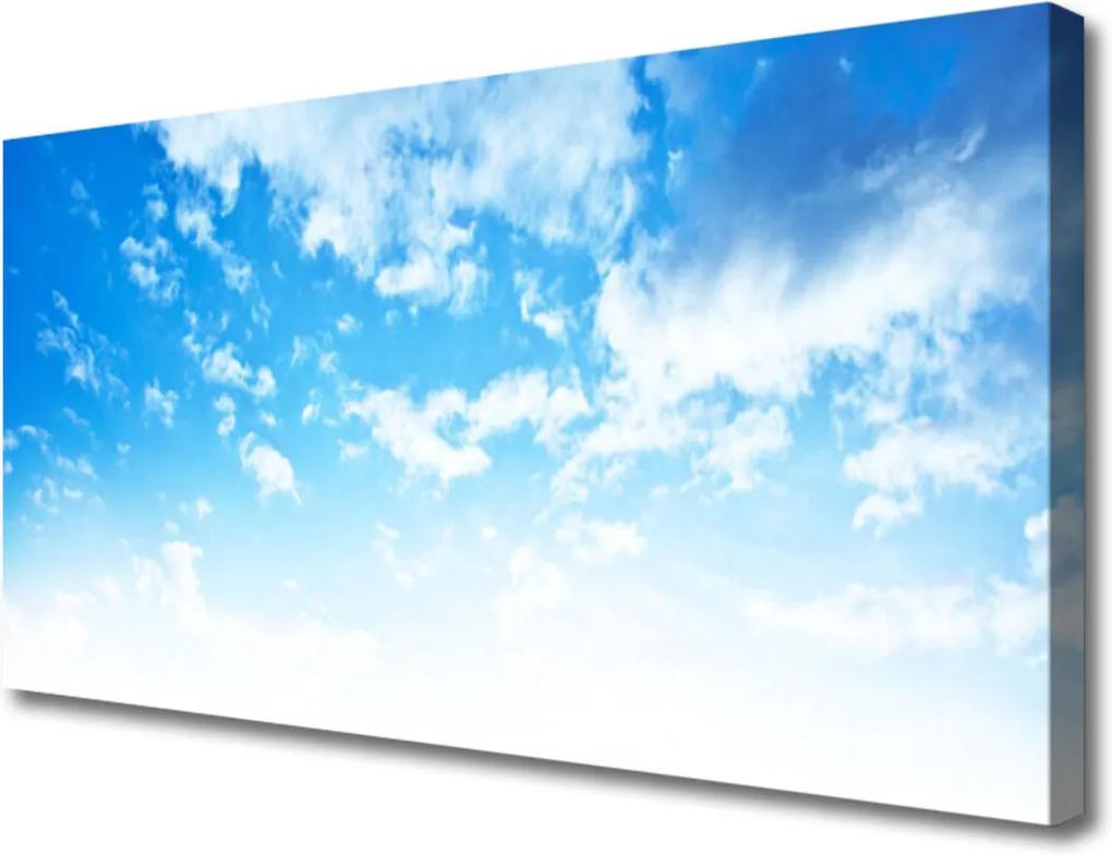 Obraz na plátně Nebo Mraky Príroda