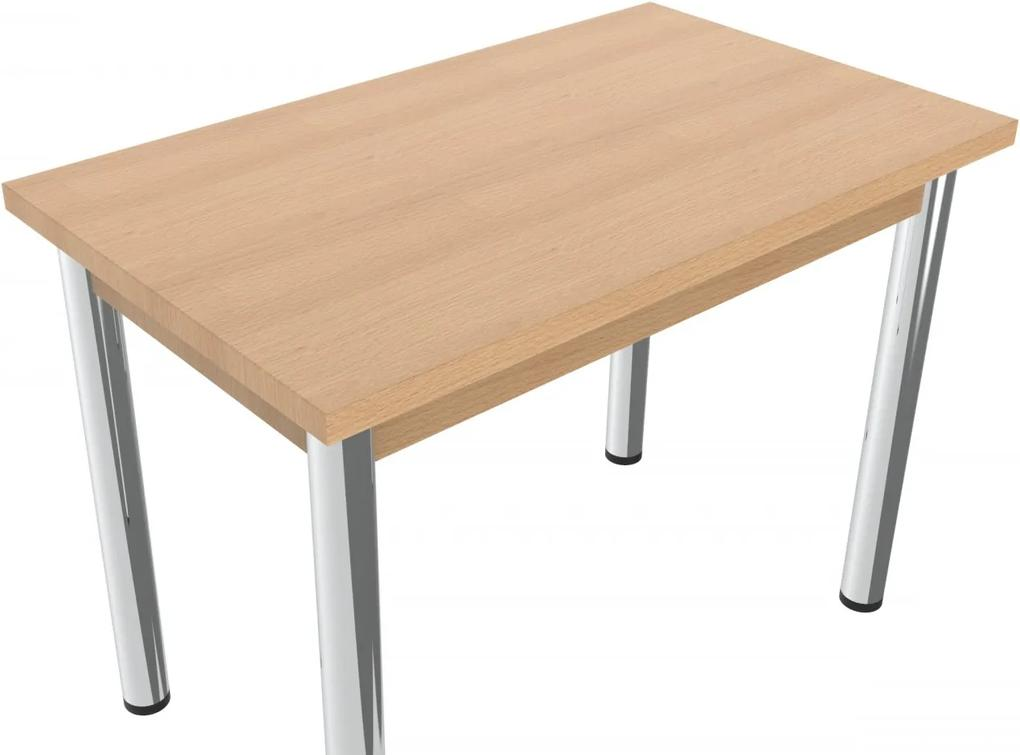 Jedálenský stôl kovové nohy Lithe