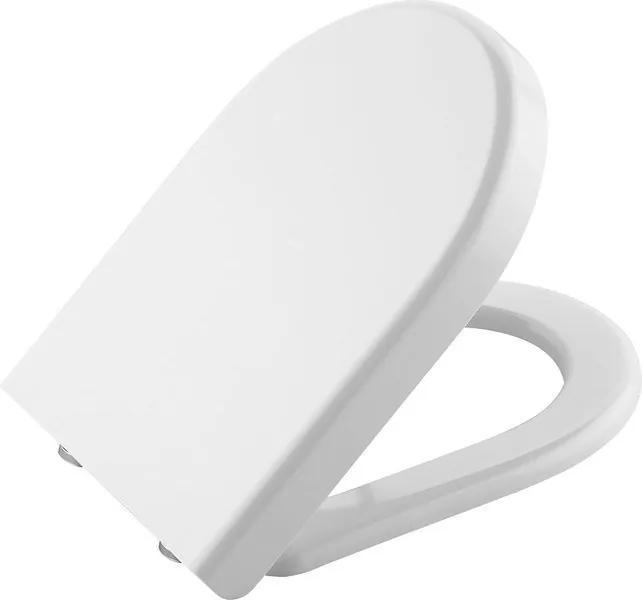 Claudia 70113730 WC sedátko, Soft Close, duroplast, biela