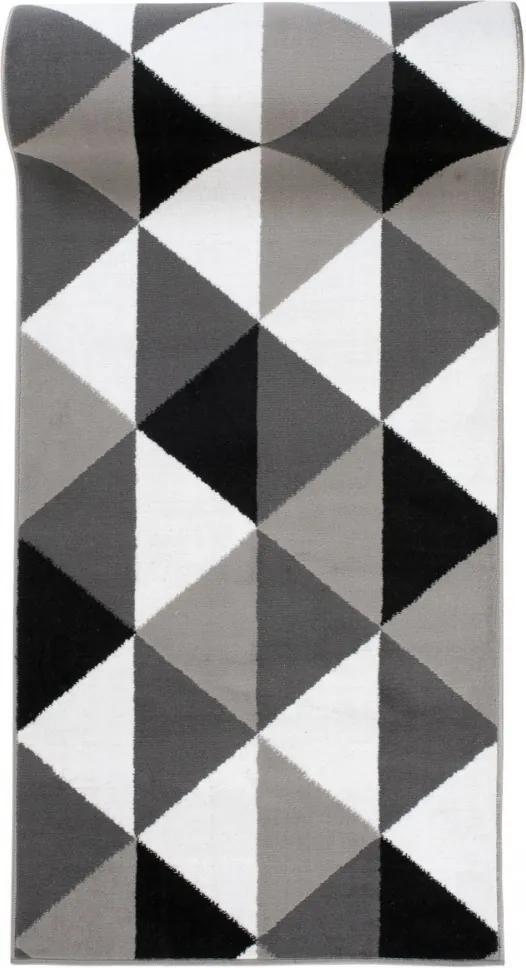 Behúň PP Balis sivý, Šířky běhounů 100 cm