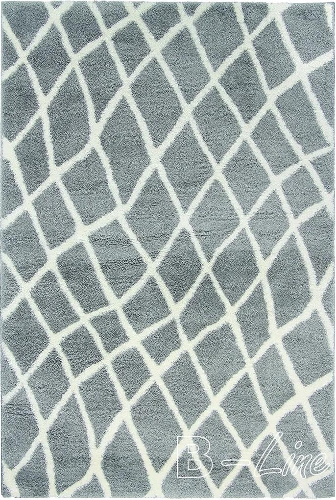 Oriental Weavers koberce Kusový koberec Nano Shag 625 GY6E - 100x150 cm