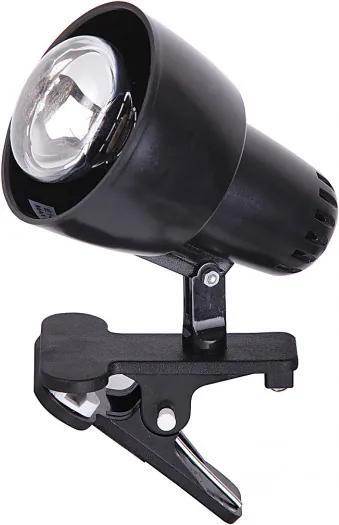 Rábalux 4357 Stolné Lampy na Čítanie Clip čierny plast E14 R50 1x MAX 40W IP20