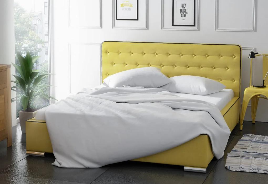 Čalúnená posteľ OSLO, 120x200, madryt 912