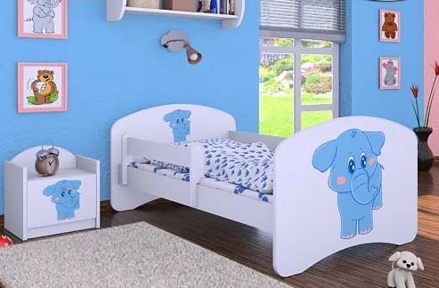 MAXMAX Detská posteľ bez šuplíku 160x80cm SLON 160x80 pre dievča|pre chlapca|pre všetkých NIE