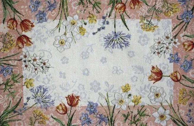 SANDER Gobelínový behúň 32 x 96 cm Spring Flowers