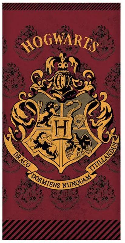 Setino · Bavlnená plážová osuška Harry Potter - Hogwarts - 100% bavlna - 70 x 140 cm