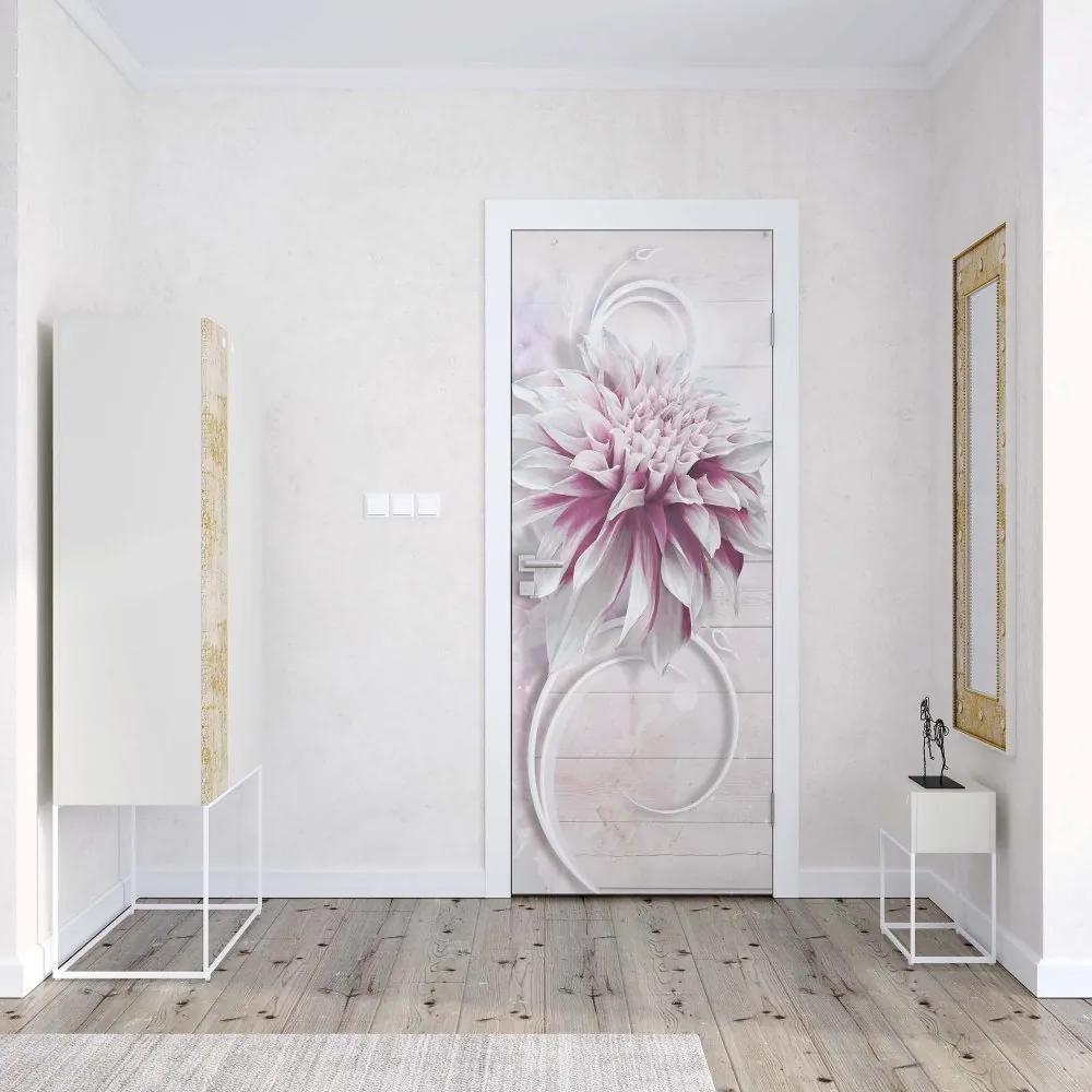 GLIX Fototapeta na dvere - Flowers Modern Design