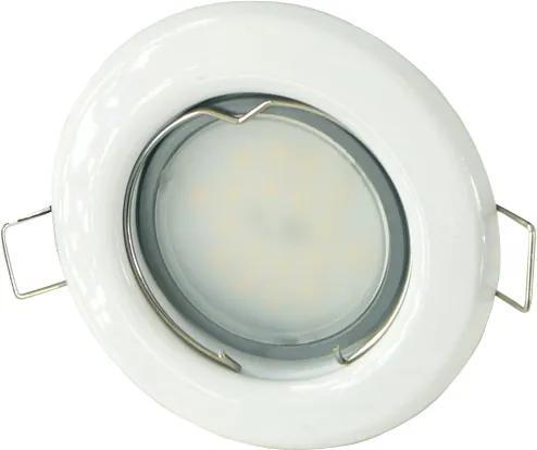 T-LED LED bodové svetlo do sadrokartónu 3W biele 230V Farba svetla: Denná biela