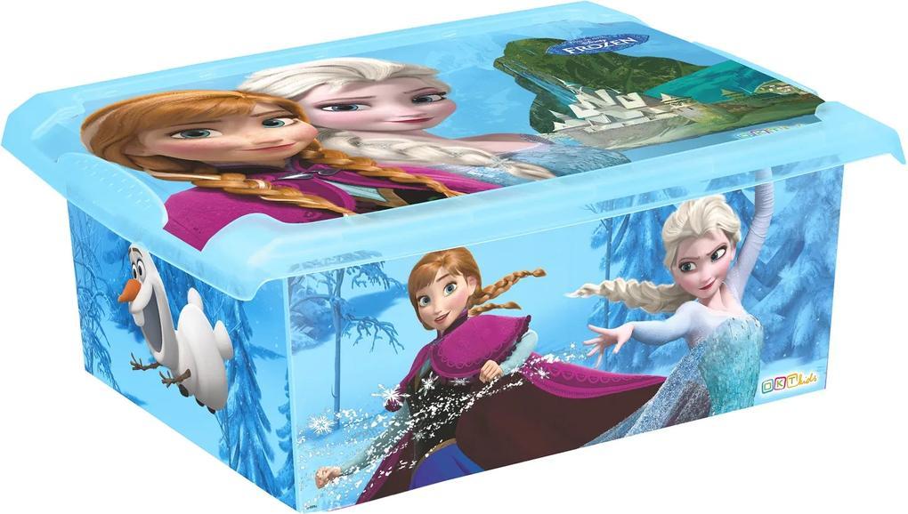 OKT Úložný box Frozen - rôzne veľkosti 10l W2726