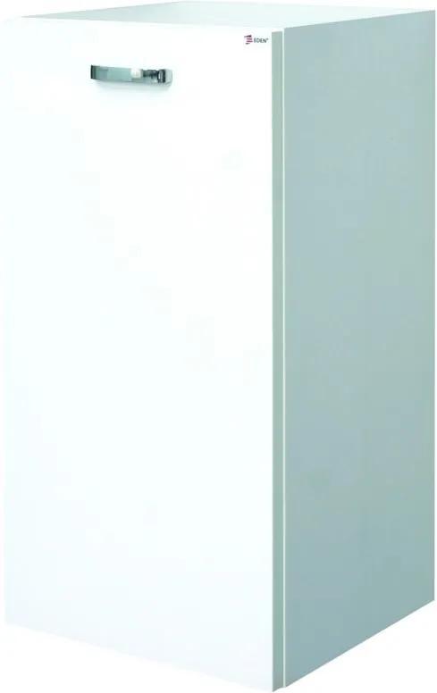 EDEN skrinka PX12/K M1F1 biela/biela závesná nízka s košom 35x70x33