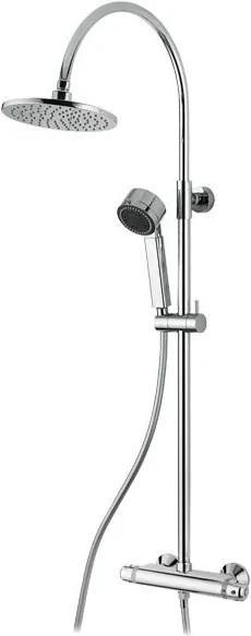 M&Z Acqua 2 26708 sprchová termostatická nástenná batéria, komplet