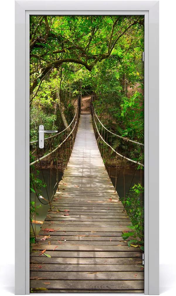 Fototapeta na dveře Visací most