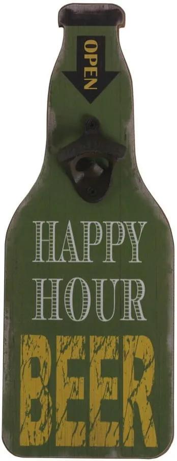 Zelený nástenný otvárač na fľaše Geese Bottle Opener