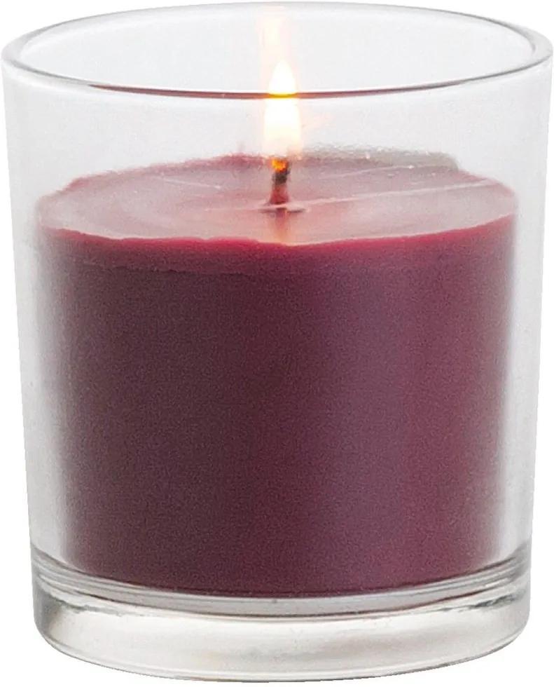 Vonna sviečka v skle