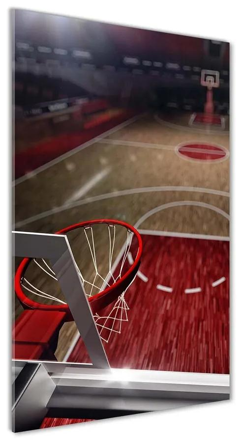 Foto obraz akrylový Ihrisko basketbal pl-oa-70x140-f-88994259