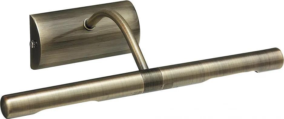 Rábalux 3644 Svietidlá nad obrazy bronz G9 2x MAX 40W 300 x 100 mm