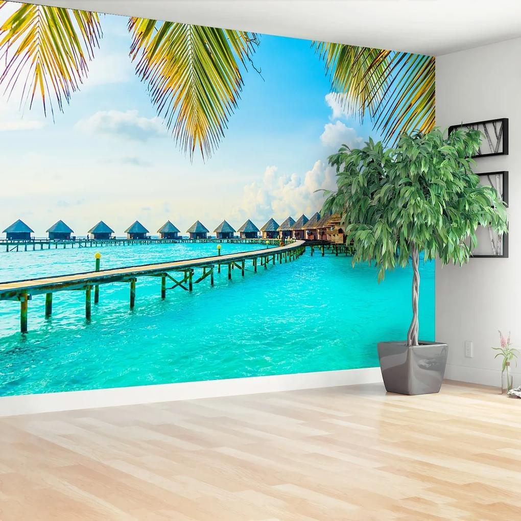 Fototapeta Tropické Maledivy
