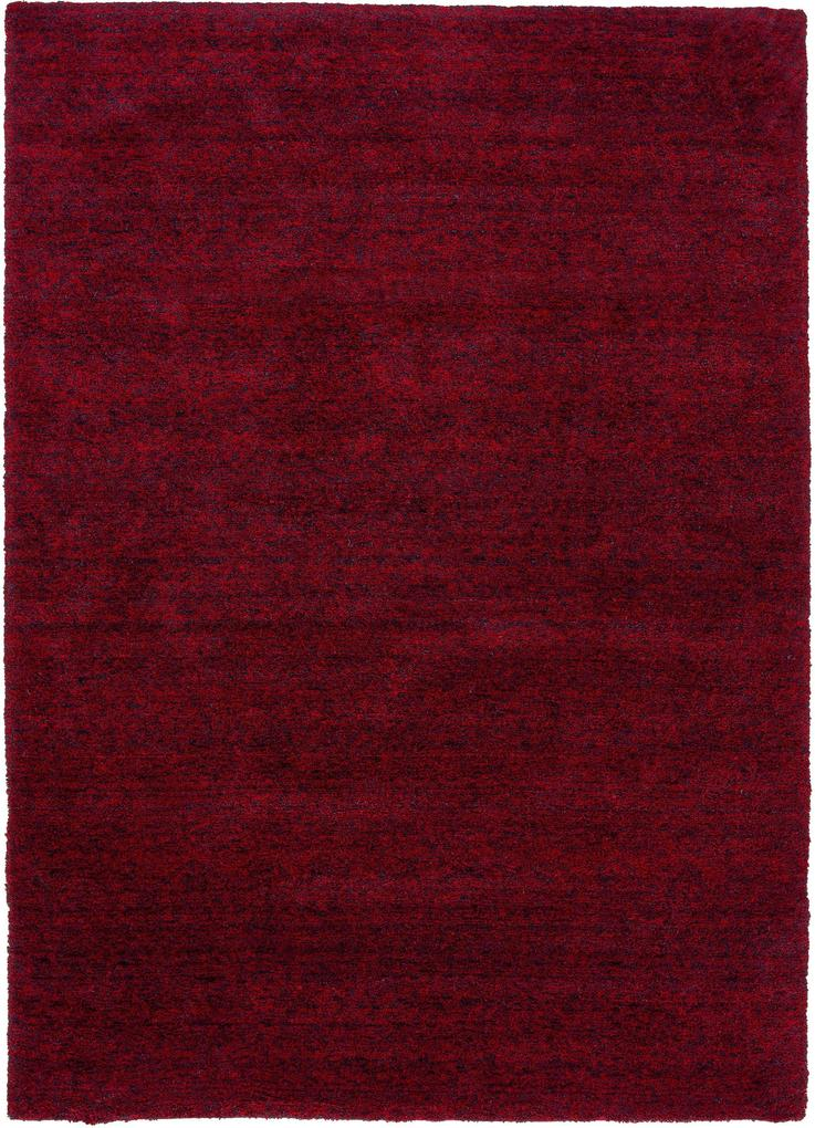 Astra - Golze koberce Kusový koberec Livorno 160011 Mottled Red - 90x160 cm