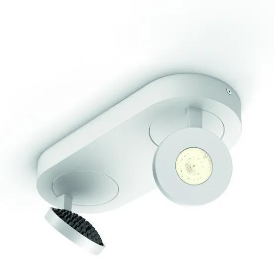 Philips 57182/31/16 Scope 2L LED bodové svietidlo biele 2x4,5W=2x500lm