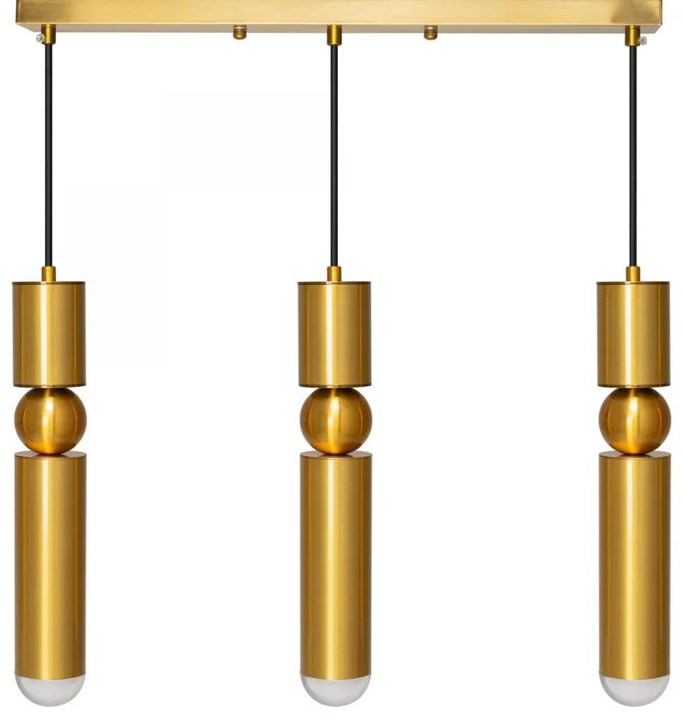TooLight Stropní svítidlo CHICAGO LED II zlaté