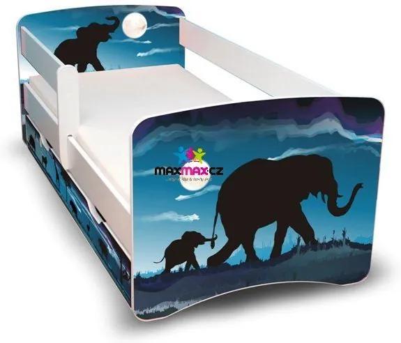 MAXMAX Detská posteľ so zásuvkou 180x90 cm - AFRIKA II 180x90 pre všetkých ÁNO