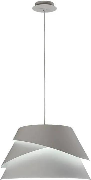 ALBORÁN | biela dizajnová visiaca lampa Priemer: 41 cm