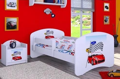 MAXMAX Detská posteľ bez šuplíku 180x90cm RALLY 180x90 pre chlapca NIE