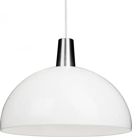 Závesná lampa Kupoli, bielo-strieborná Innolux