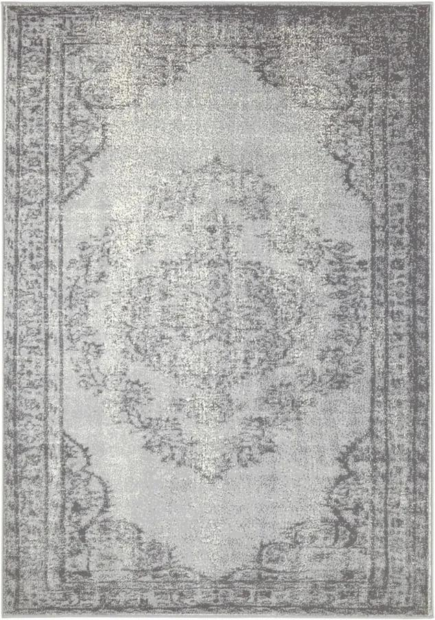 Sivo-krémový koberec Hansa Home Celebration Mirro, 120 x 170 cm