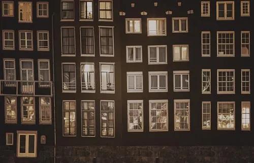 Luxusné vliesové fototapety, rozmer 418,5 cm x 270 cm, Amsterdam, P+S International CL03C