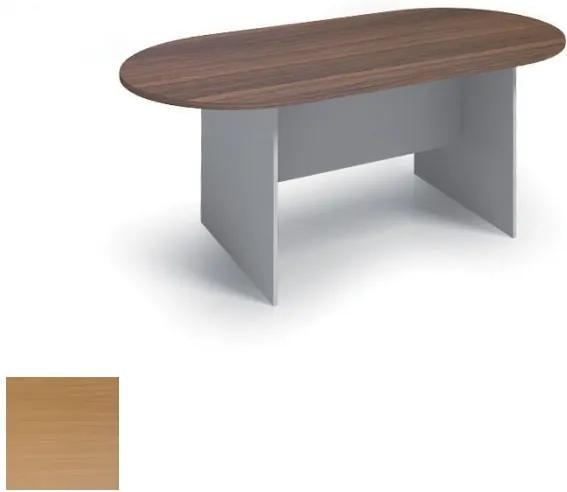 Rokovací stôl 1800 x 900 mm, oválny, buk